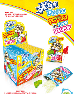 Dr Lab lollipop